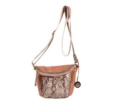The Sak Adjustable Flap Over Crossbody Bag