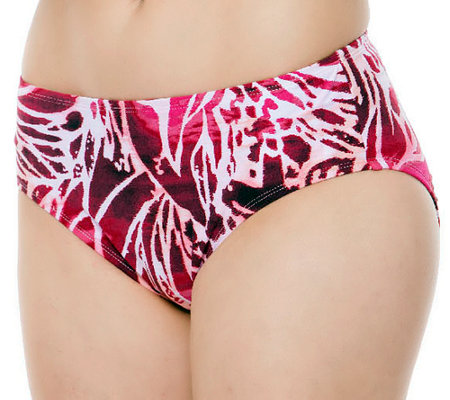 Simply Sole Skin Deep Control Panty Swim Bottoms
