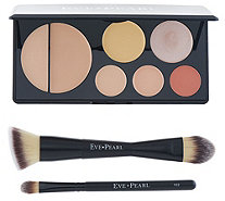 EVE PEARL Flawless Face Contour Palette and Brushes - A344066