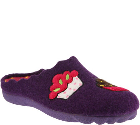 Flexus by Spring Step Indoor/Outdoor Wool Slippers - Birthday