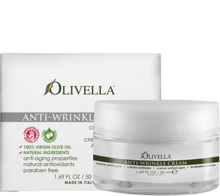Olivella Anti-Wrinkle Cream, 1.69 oz