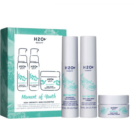 H2O+ Beauty Moment of Youth Infinity+ Mini Faves 3-pc Set