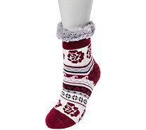 MUK LUKS Women's Fluffy Cabin Socks - A361766