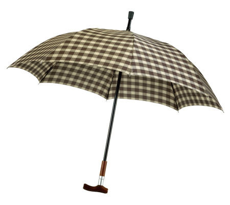 Leighton Manual Open and Close Cane Umbrella