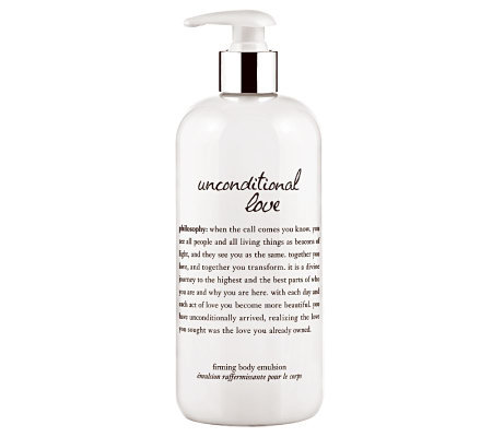 philosophy unconditional love 16-oz firming body emulsion
