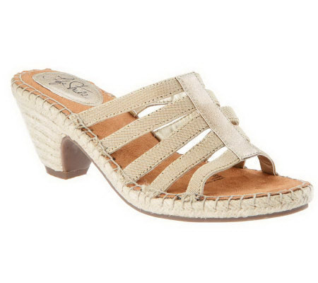 LifeStride Multi-strap Espadrille Sandals - Route