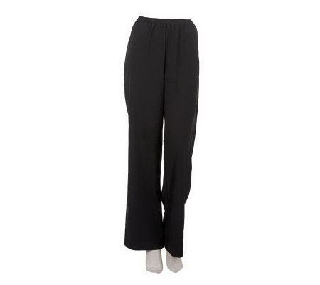 Linea by Louis Dell'Olio Regular Wide Leg Pull-on Pants