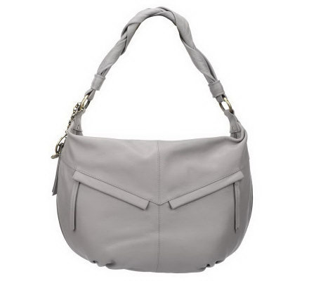 Maxx New York Expandable Nappa Leather Hobo