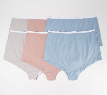 Breezies S/6 Cotton Women's Brief Panties with UltimAir - A22767