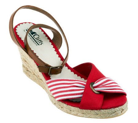 Cliffs by White Mountain Sister Espadrille Sandals
