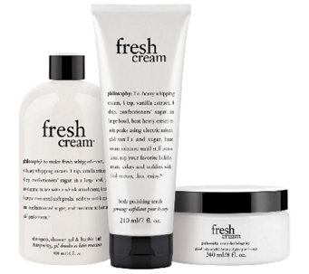 philosophy fresh cream body experience - A260267