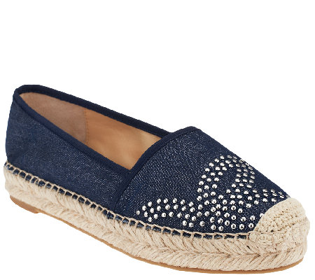 Marc Fisher Espadrille Slip-on Shoes - Palmer