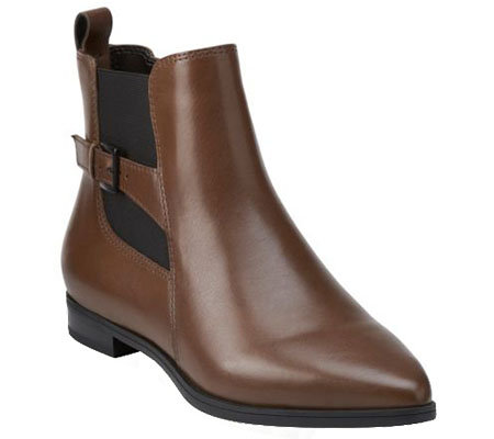 Clarks Artisan Leather Chelsea Boots - Morela Liza