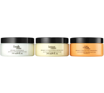 philosophy glazed body souffle trio - A280667
