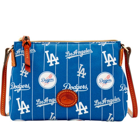 Dooney & Bourke MLB Nylon Dodgers Crossbody Pouchette