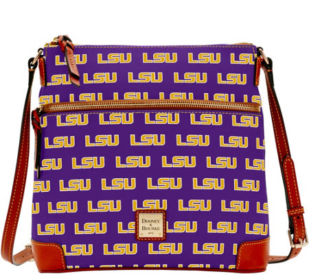 Dooney & Bourke NCAA Louisiana State University Crossbody