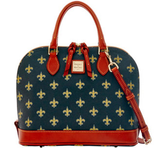 Dooney & Bourke NFL Saints Zip Zip Satchel - A285767