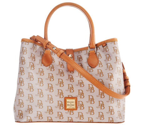 """As Is"" Dooney & Bourke Sutton Perry Satchel"