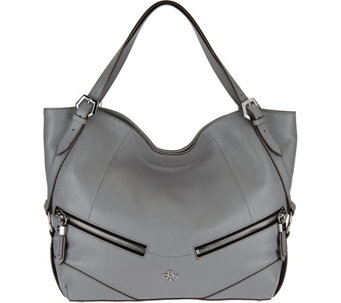 """As Is"" orYANY Leather Shoulder Bag - Bella - A289767"