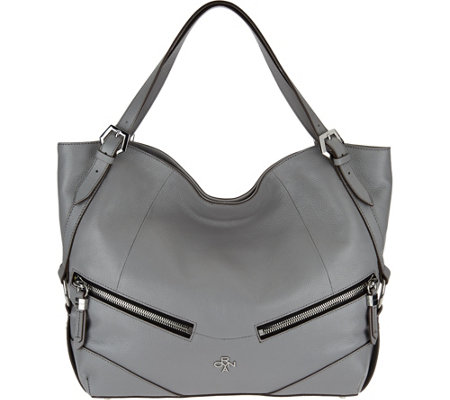 """As Is"" orYANY Leather Shoulder Bag - Bella"