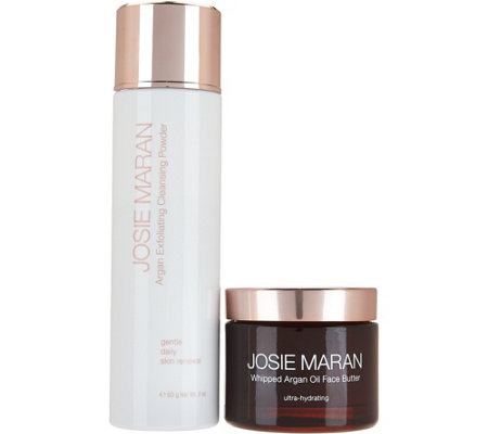 Josie Maran Face Butter & Exfoliating Powder Duo