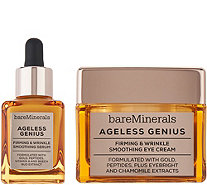 bareMinerals Ageless Genius Wrinkle Serum and Eye Cream Duo - A303567