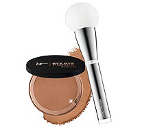 IT Cosmetics Bye Bye Pores Pressed Bronzer with Brush - A303967