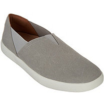Vionic Canvas Slip-On Shoes - Ivy - A307167