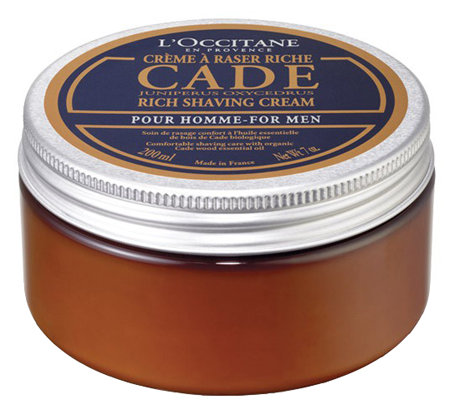 L'Occitane Cade Rich Shaving Cream, 7 oz
