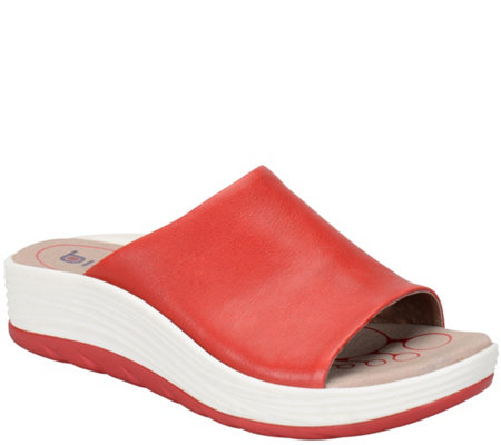 Bionica Leather Slide Sandals - Cosma