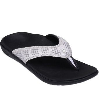 Spenco Thong Sandals -  Breeze Thong - A340867