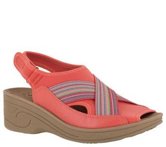 RSVP Llissa Yellow and Black Slip on Sandals Shoes Size 9 M