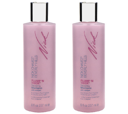 Nick Chavez Plump 'N Thick Thickening Shampoo Duo