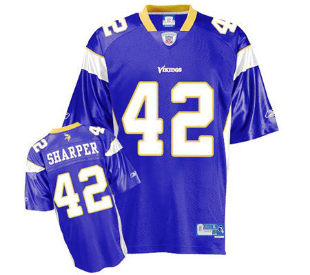 ... Replica 42 Minnesota Vikings Jersey - Medium NFL Minnesota Vikings  Darren Sharper Premier Team Color Jersey . f087bec1d