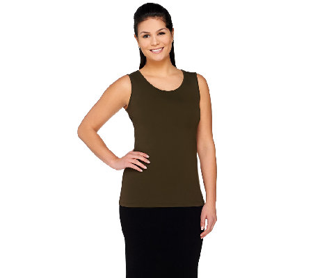 Linea by Louis Dell'Olio Scoopneck Tank