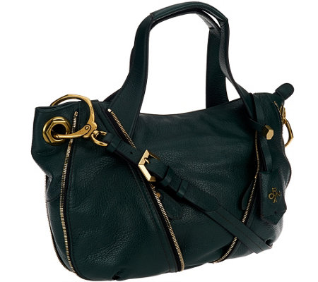 orYANY Pebble Leather Lian Satchel w/ Convertible Strap