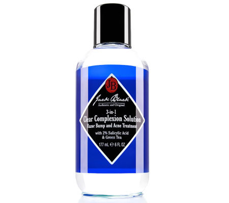Jack Black Clear Complexion Razor Bump & Acne Treatment, 6 oz