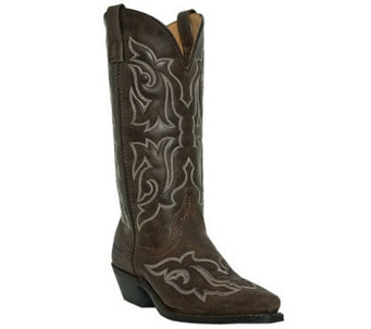Laredo Leather Cowboy Boots - Runaway - A245468