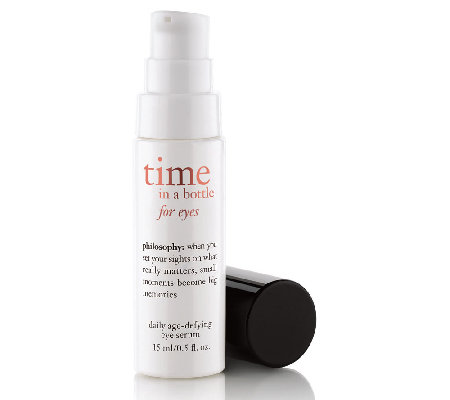 philosophy time in a bottle eye serum Auto-Delivery