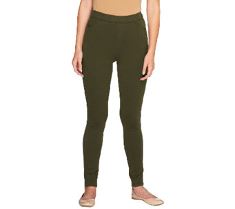 "Denim & Co. ""How Comfy"" Tall Pull-on Leggings - A256968"