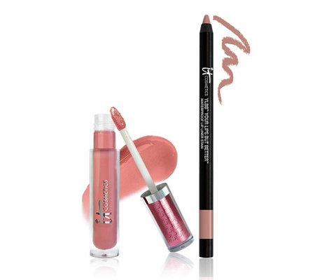 IT Cosmetics Perfect Lip Gloss Stain and Liner Stain Duo Auto-Delivery