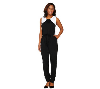 GK George Kotsiopoulos Color Block Woven Jumpsuit - A263368