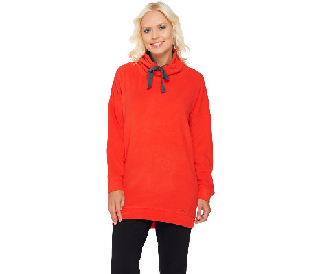 Cuddl Duds Fleecewear Stretch Long Sleeve Tunic