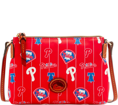 Dooney & Bourke MLB Nylon Phillies Crossbody Pouchette