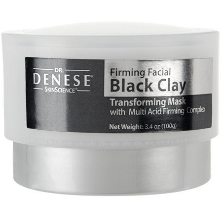 Dr. Denese Super-Size Black Clay Facial Firming Mask 3.4oz