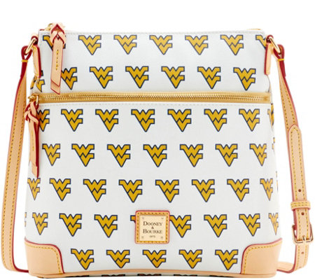 Dooney & Bourke NCAA West Virginia University Crossbody