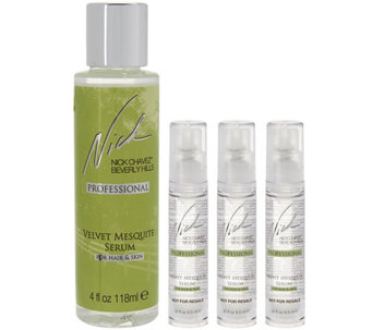 Nick Chavez Velvet Mesquite Serum, 4 oz. w/ Travel Serum Gift Set - A286568