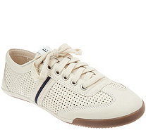 ED Ellen DeGeneres Leather Lace-up Sneakers - Escondido - A291068