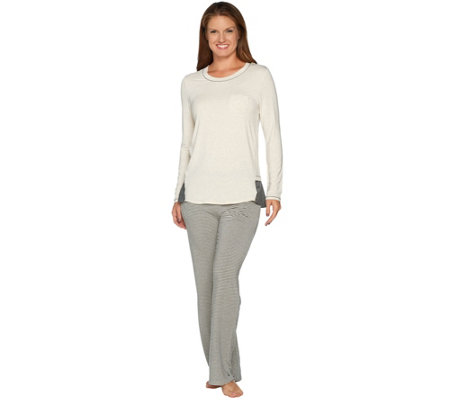 Cuddl Duds Softwear with Stretch Novelty Pajama Set