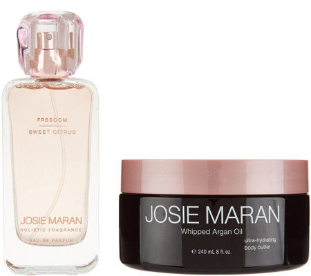 Josie Maran Whipped Argan Body Butter & Fragrance Set
